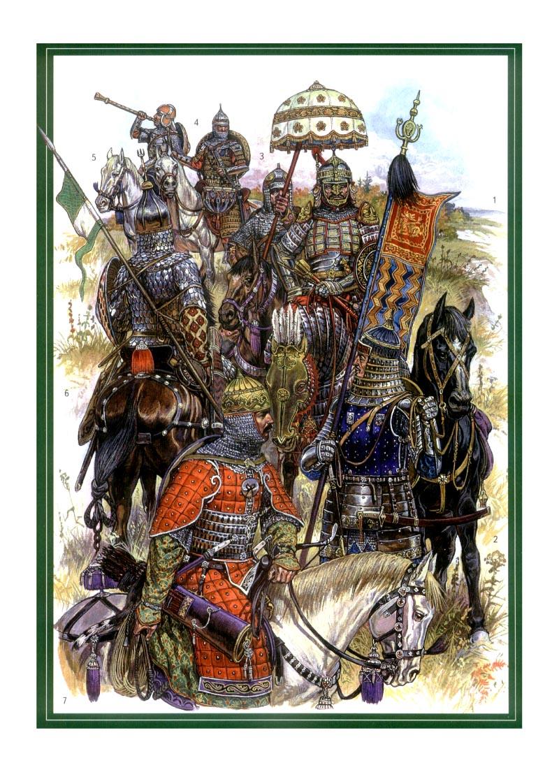 Армия мамая войска золотой орды